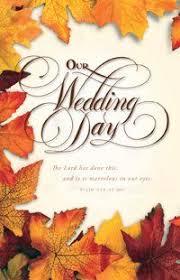 Fall Wedding Programs U6282 Wedding Ideas Wedding Programs