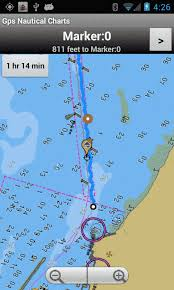 Marine Navigation Using Android Phone Tablet Nautical