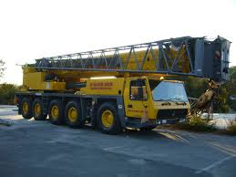 120 Ton Grove Gmk 5120b All Terrrain Crane Rental