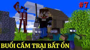 Lớp Học Quái Vật ] BUỔI CẤM TRẠI BẤT ỔN | Minecraft Animation - YouTube