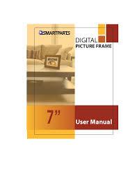 pdf for smartparts digital photo frame optipix sp72 manual
