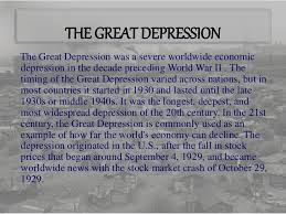 the great depression the great depression 4 the