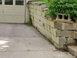 concrete retaining walls repair