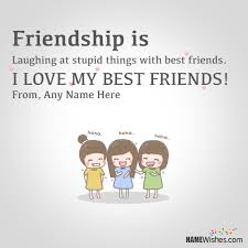 Best Quotes Ever About Friendship Simple Best Ever Friendship Quotes With Friend Names