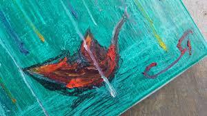 oil pastel on canvas mini collection