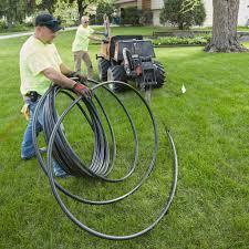 install an irrigation system