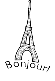 Small Picture Eiffel Tower is in France Coloring Page Eiffel Tower is in France