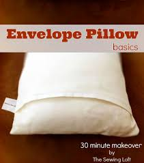 How To Make A Simple Envelope Pillow Cover