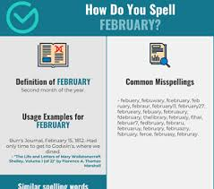 The international phonetic alphabet (ipa) is a set of symbols that linguists use to describe the sounds of spoken languages. Correct Spelling For February Infographic Spellchecker Net
