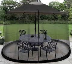 mosquito net canopy patio table umbrella outdoor yard garden deck gazebo porch