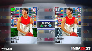 Taking the second overall pick this year, suspected to be either lamelo ball or james wiseman, the warriors look set to be adding another. Evo Lamelo Ball Card Myteam