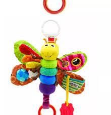HCM][ToyStory] Đồ Chơi An Toàn Thú Bông Cho Bé Phát Triển Giác Quan Nhồi  Bông Cho Trẻ Em Treo Nôi Cũi Xe Đẩy Lamaze by TOMY