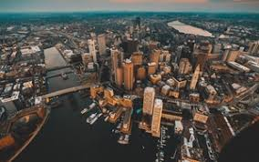 wallpaper hd widescreen city.  Wallpaper Preview Wallpaper Architecture City View From Above Buildings River Intended Wallpaper Hd Widescreen City