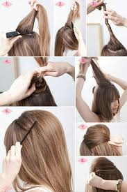 easy hairstyles for um hair to do at home step by step dailymotion easy hairstyles