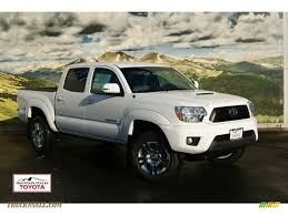 2012 Toyota Tacoma V6 TRD Sport Double Cab 4x4 in Super White ...