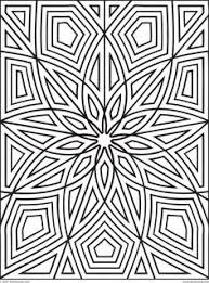 Printable Geometric Free Coloring Pages On Art Coloring Pages