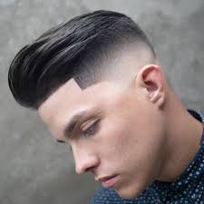 Edge Up Haircut Designs Cool High Fade Pomp With Texture And A Line Up Menshair