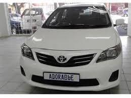 Toyota Corolla In Johannesburg - Used Toyota Corolla White Johannesburg  Mitula Cars