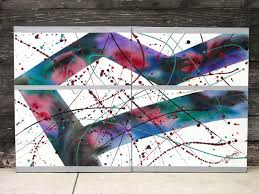 lee reynolds painting vine abstract