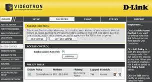 Suivez toute l'actualité de vidéotron sur notre page officielle. Router Configuration