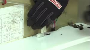 how to replace the lid switch in a top load washer repair guide plug in the wire harness