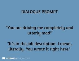 best Prompts images on Pinterest   Writing ideas  Creative         Writing Prompts based on dialogue