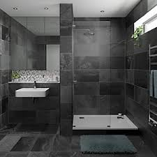 White floor tiles bathroom Blue Wickes Black Slate Effect Tile 670 333mm Wickes Bathroom Wall Floor Tiles Wickescouk