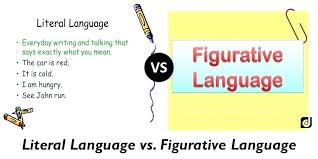 literal language understanding non literal language fill in the blank