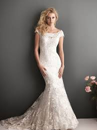 a classical collection of ivory lace mermaid wedding dresses