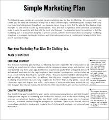 Marketing Proposal Template Free Template Sample Marketing Proposal Template Plan Word Simple 21