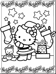 Small Picture terrific hello kitty christmas coloring pages with coloring pages