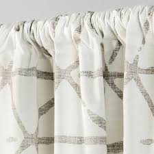 Gray and beige curtains Blackout Target Sketched Triangle Curtain Panel Project 62 Target
