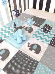 Best 25+ Patchwork baby ideas on Pinterest | Easy baby quilt ... & Pachy the Elephant Baby Crib Quilt blue by AlphabetMonkey. Crib QuiltsCrib  BeddingBaby Patchwork ... Adamdwight.com