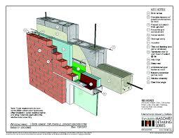 Concrete Block Lintel Design 01 030 0605 Window Head Brick Veneer Cmu Backup Precast