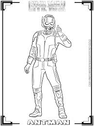 Small Picture AmericaCivil War Printable Coloring Pages Realistic At Ant Man