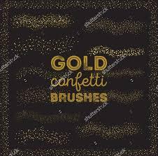 Confetti Brush Photoshop 20 Glitter Brushes Abr Atn Download