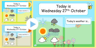 Weather Chart Weather And Seasons Interactive Chart Powerpoint