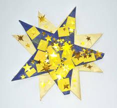 Kinder Malen Und Basteln Weihnachtssterne Zum Aufkleben