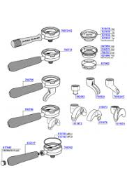 coffee machine parts. Contemporary Parts Boema  Portafilters And Filter Baskets To Coffee Machine Parts A