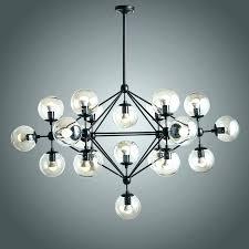 ball chandelier lights hanging sparkling floating crystal ball pendant chandelier