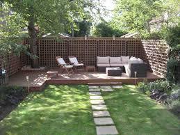 Small Garden Decking Designs Landscaping Ideas