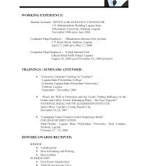 How To Make A College Student Resume Nmdnconference Com Example