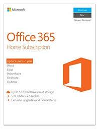 Windows 365 Office Microsoft Office 365 Home 5 Users