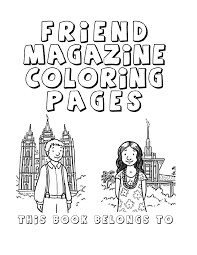 lds coloring pages. great idea for a quiet coloring book in ...