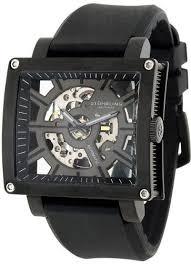 17 best images about stührling skeleton watches stuhrling original men s 257 st 335654 classic metropolis axis automatic skeleton black watch stuhrling