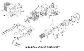 suburban furnace model nt sp tune up kit
