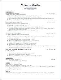 Professional Resume Sample Format Free Curriculum Vitae Template ...