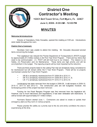 Fdot District 1 Organizational Chart District One Contractors Meeting Minutes