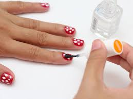 5 Nail Designs How To Do Polka Dot Nail Art 5 Steps With Pictures Wikihow