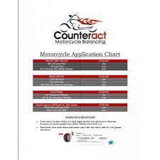 Balancing Beads Chart Kit D Counteract Balancing Beads For Motorcycles